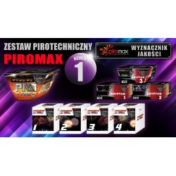 Zestaw pirotechniczny nr. 1 - PIROMAX