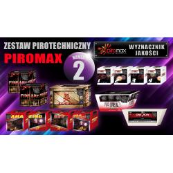 Zestaw pirotechniczny nr. 2 - PIROMAX