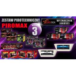 Zestaw pirotechniczny nr. 3 - PIROMAX